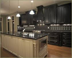 White Distressed Kitchen Cabinets by Black And White Distressed Kitchen Cabinets Home Design Ideas