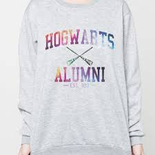 hogwarts alumni sweater best harry potter jumper products on wanelo