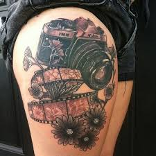 nikon camera tattoo design tattoos mob