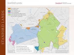 Stanford Maps January 2017 Community Forum 2018 General Use Permit