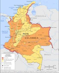 Map Of Columbia South America by Smartraveller Gov Au Colombia