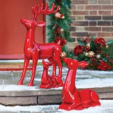high gloss reindeer decorations improvements catalog