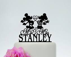 mickey minnie cake topper wedding cake toppermr and mrs cake topper with last