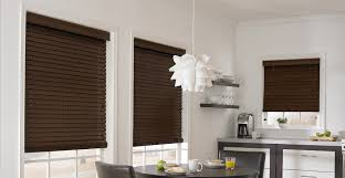Wood Blinds For Windows - 2 1 2 in distressed amber wood blinds 3 day blinds