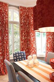 stunning red dining room curtains ideas home design ideas