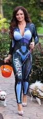 Realistic Halloween Costumes Photos Jwoww Wears A Svedka Fembot Costume For Halloween
