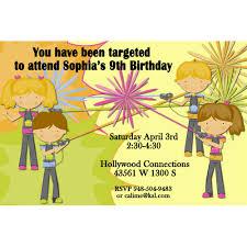 free printable laser tag birthday invitations free drevio