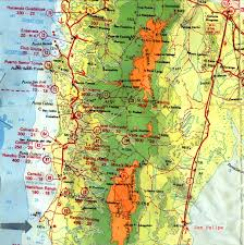 map of mexico and california map of baja mexico baja california mexico with 605 x 610 map of