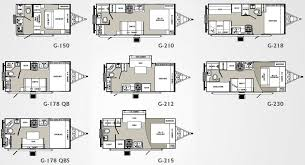 small house trailer floor plans palomino gazelle travel trailer
