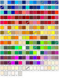 100 colours name the 25 best colour chart ideas on