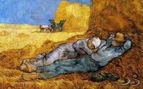wallpaper vincent van gogh rest of the laborers