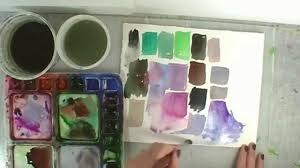 12 color combinations to mix for better watercolor paintings youtube