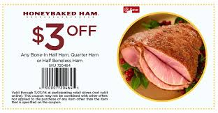 honey baked ham printable coupons 5 samurai blue coupon