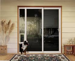 Vinyl Patio Door Pet Door Ideas Product Jeld Wen Premium Vinyl Sliding Patio