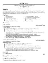 contractor resume sample jennywashere com