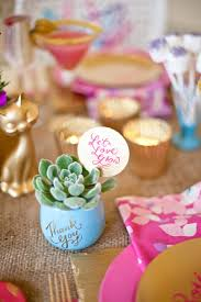 thank you favors potted party favors best friends for frosting