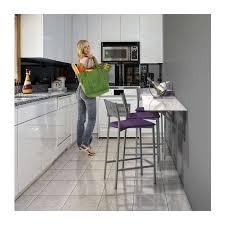 table cuisine murale rabattable table murale rabattable d appoint en verre vulcano 4 pieds