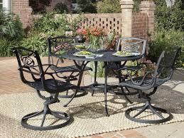 Round Wicker Patio Dining Set - patio 62 patio dining table outdoor dining table round wicker
