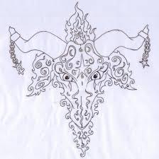 pagan goat tattoo design by lancane on deviantart