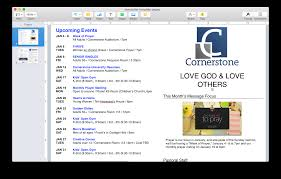 church publications free newsletter template churchmag
