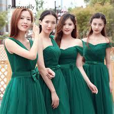 green bridesmaid dresses vestido de noiva emerald green bridesmaid dresses pleat