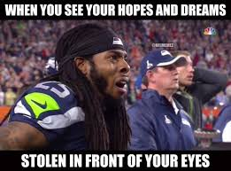 Sherman Meme - 24 hilarious memes to perfectly describe super bowl xlix