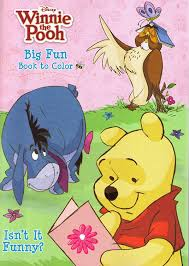 amazon com 4pk disney u0027s winnie the pooh coloring book 96 page