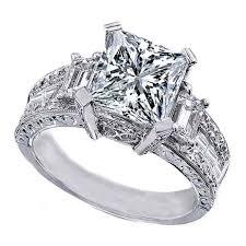 unique princess cut engagement rings best 25 princess cut rings ideas on princess cut