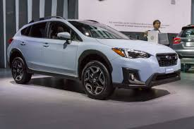 small subaru car 2017 new york auto show 2018 subaru crosstrek autonxt