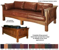 mission style leather sofa great mission leather sofa mission style furniture oak furniture