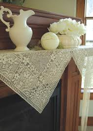 chantilly mantle scarf heritage lace