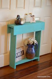 Entry Table Decor by Console Table Small Console Table Teal Skinny Wall Table Skinny