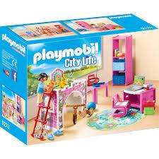 playmobil chambre bébé playmobil city chambre d enfant jouets de construction 9270