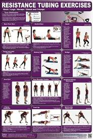 Chair Resistance Band Exercises Best 25 Resistance Tube Workout Ideas On Pinterest Resistance