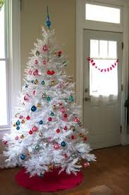 white christmas tree with colored lights 10 amazing christmas tree decorating ideas trees 10 and