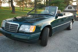 mercedes e 320 38k mile 1995 mercedes e320 cabriolet for sale on bat
