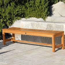 teak outdoor bench garden u2014 teak furnitures simple and natural