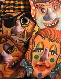 vintage masks grotesque vintage masks with plastic noses ebay