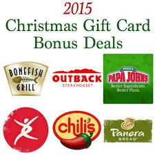 2015 christmas gift card bonus deals thrifty t u0027s treasures