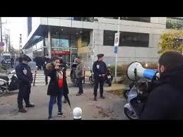 siege de bfm tv discours de du frère de yacine devant le siège de bfm tv