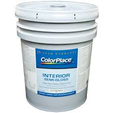 colorplace interior semi gloss latex wall and trim paint u2026 u2013 home