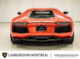 2015 Lamborghini Aventador - 2015 lamborghini aventador for sale in montréal lamborghini montréal