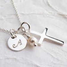 communion necklace personalized communion necklace religious gift for