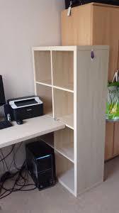 Desk Shelf Combo by Like New Ikea Kallax Desk Shelf Combo In Clapham Common London