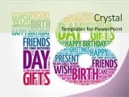 18th birthday powerpoint templates crystalgraphics