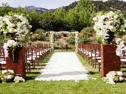 wedding ceremony decorations ideas outdoors inspiration an