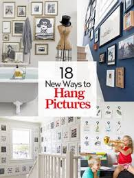 ways to hang pictures you can hang art on a curved wall design pinterest hanging