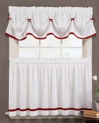 Christmas Kitchen Curtain by Kitchen Christmas Curtains Amazon Com