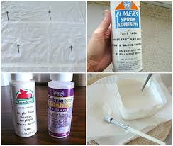 Cloth Shower Curtains How To Stencil A Drop Cloth Shower Curtain