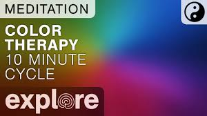 healing color therapy enjoy a 10 minute color wash meditation